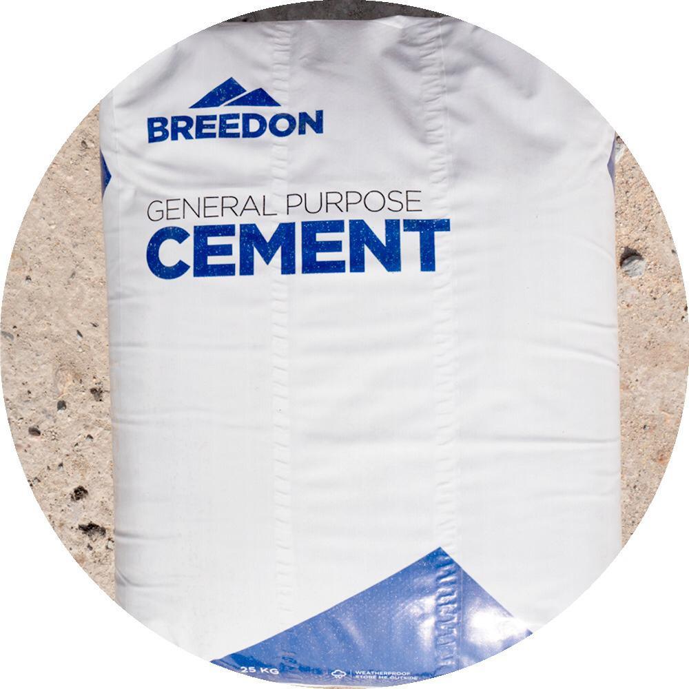 Bags of 25kg cement aggregates essex