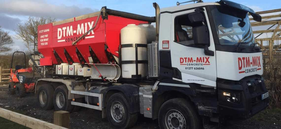 readymix concrete Stock