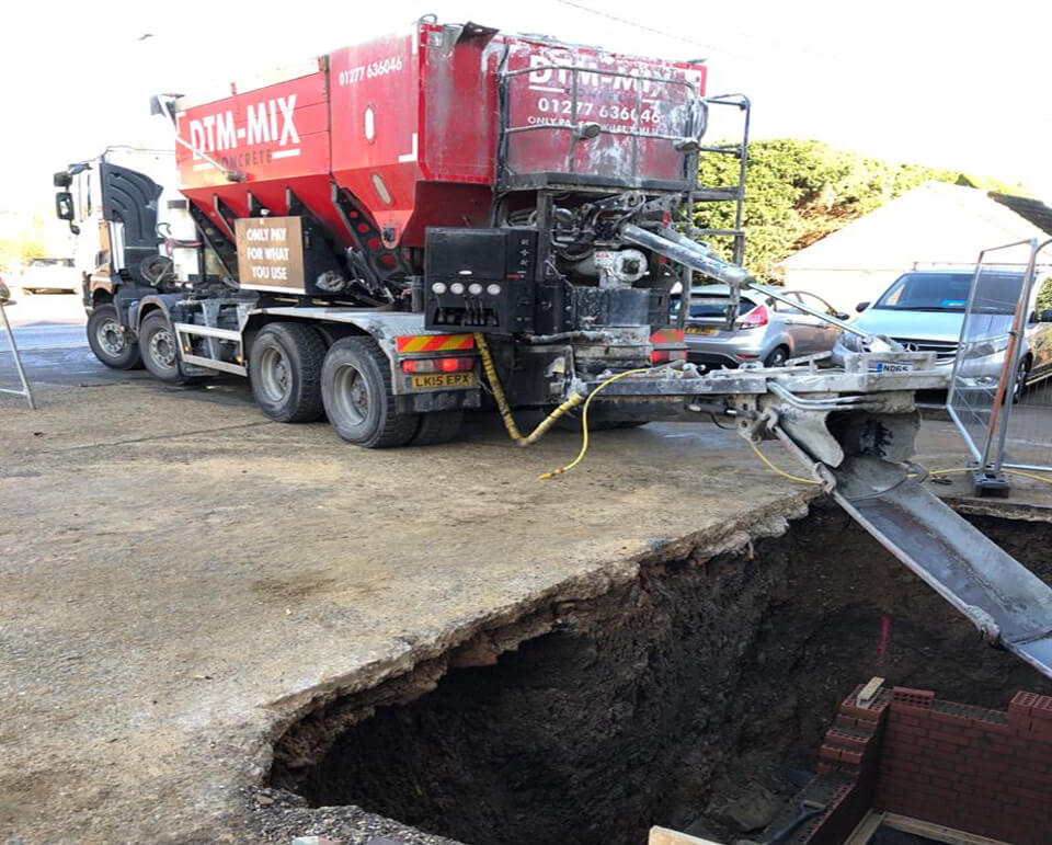 skip hire near me ready mix concrete